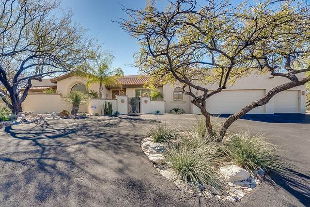 7064 N Camino Sin Vacas, Tucson, AZ 85718 (#22007589) :: Long Realty - The Vallee Gold Team