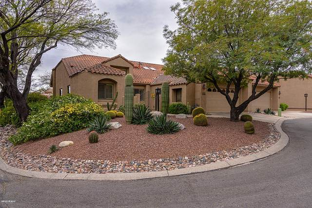 6121 N Golden Eagle Drive, Tucson, AZ 85750 (#22008115) :: Long Realty - The Vallee Gold Team