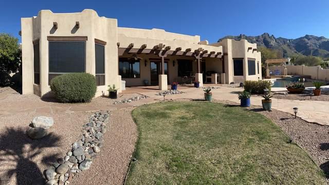 3005 E Manzanita Ridge Place, Tucson, AZ 85718 (#22008119) :: Long Realty - The Vallee Gold Team