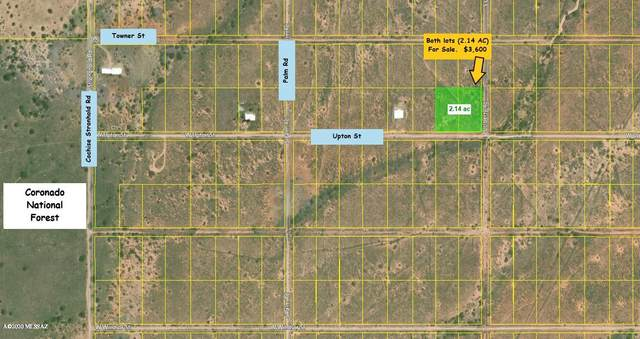 2 Lots (2.14 Ac) Upton Road 15/16, Pearce, AZ 85625 (#22008211) :: Long Realty - The Vallee Gold Team