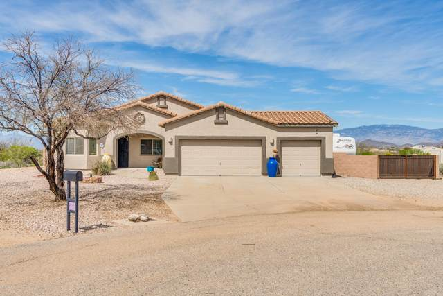 3381 E Slippery Rock Drive, Vail, AZ 85641 (#22008212) :: Long Realty - The Vallee Gold Team