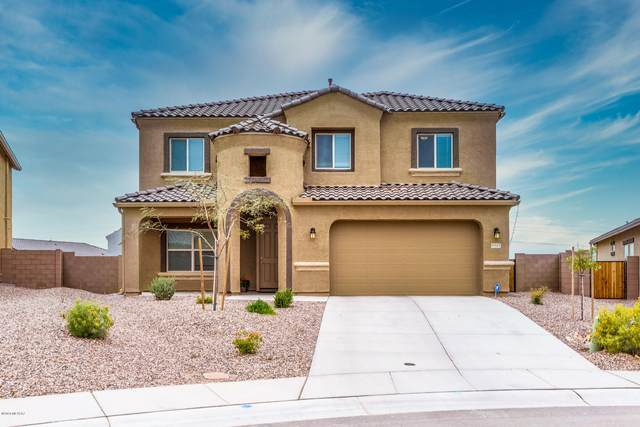 9717 N Sonoran Mallow Court, Marana, AZ 85653 (MLS #22008387) :: The Property Partners at eXp Realty