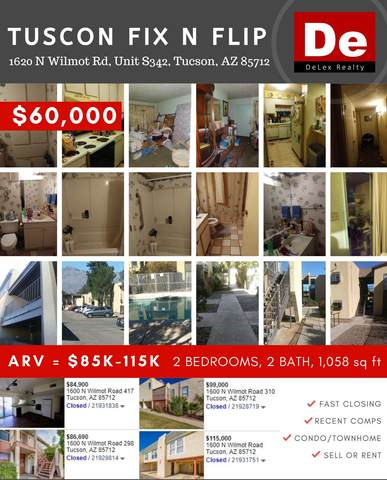 1620 N Wilmot Road S342, Tucson, AZ 85712 (#22008543) :: Long Realty - The Vallee Gold Team