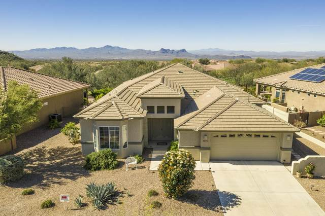 13807 N Heritage Canyon Drive, Marana, AZ 85658 (#22008574) :: Long Realty - The Vallee Gold Team
