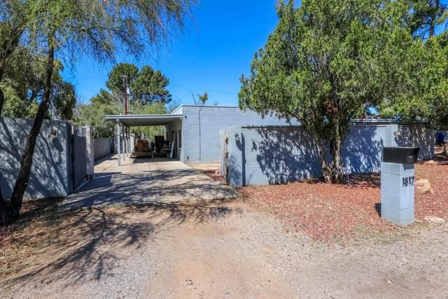1817 N Ridgeway Road, Tucson, AZ 85712 (#22008617) :: Long Realty - The Vallee Gold Team