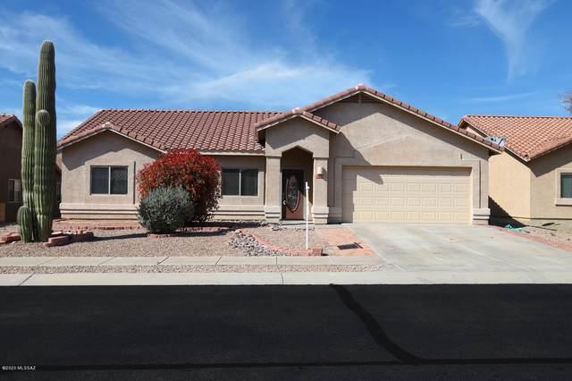 5100 W Wild Burro Spring Drive, Marana, AZ 85658 (#22008723) :: Keller Williams