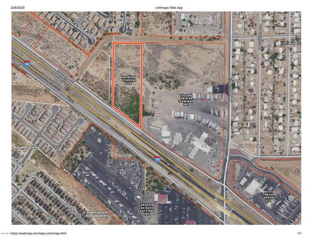 I-10 Frontage Rd At Craycroft, Tucson, AZ 85756 (#22008731) :: Long Realty - The Vallee Gold Team