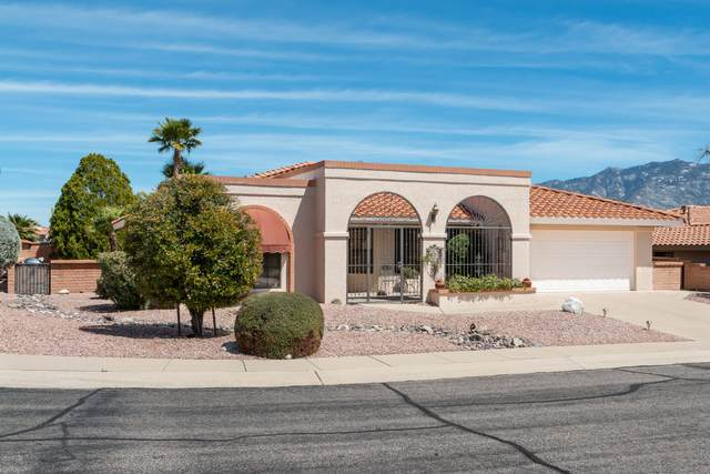 14550 N Crown Point Drive, Oro Valley, AZ 85755 (#22008779) :: Long Realty - The Vallee Gold Team