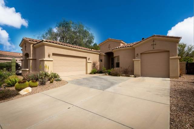 6290 N Via Lomas De Paloma, Tucson, AZ 85718 (#22009040) :: Gateway Partners   Realty Executives Arizona Territory