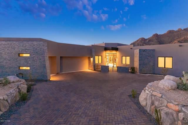 1687 E Desert Garden Drive, Tucson, AZ 85718 (#22009517) :: Long Realty - The Vallee Gold Team