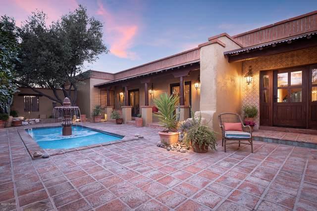 5545 N Entrada Quince, Tucson, AZ 85718 (#22012282) :: Realty Executives Tucson Elite