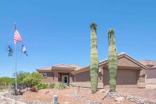 12851 N Eagle Mesa Place, Marana, AZ 85658 (#22012704) :: Long Realty - The Vallee Gold Team
