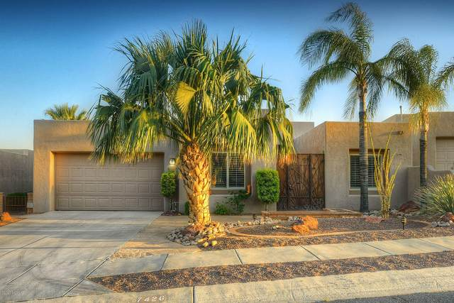 7426 E Valley Lights Place, Tucson, AZ 85750 (#22013269) :: The Josh Berkley Team