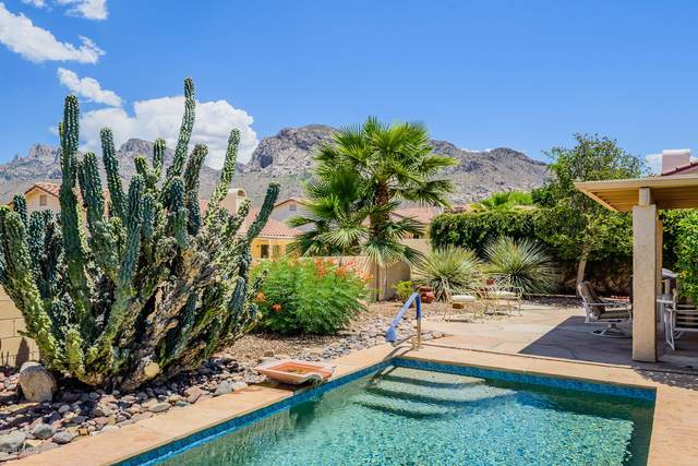 9980 N Laurelwood Drive, Oro Valley, AZ 85737 (#22013527) :: Luxury Group - Realty Executives Arizona Properties