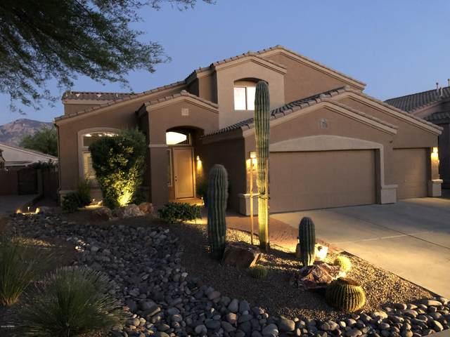 305 W Sacaton Canyon Drive, Oro Valley, AZ 85755 (#22013535) :: Luxury Group - Realty Executives Arizona Properties