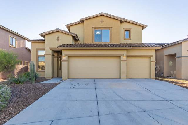 8360 N Amber Burst Drive, Tucson, AZ 85743 (#22013793) :: Long Realty - The Vallee Gold Team