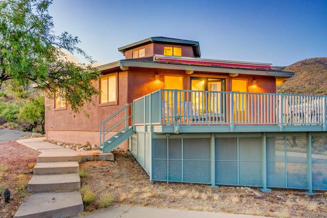 9654 E Sabino Estates Drive, Tucson, AZ 85749 (#22015429) :: The Josh Berkley Team