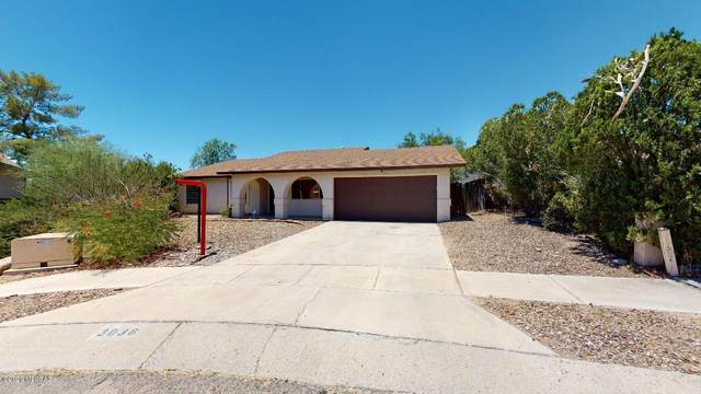 3036 W Basil Place, Tucson, AZ 85741 (#22016351) :: Luxury Group - Realty Executives Arizona Properties