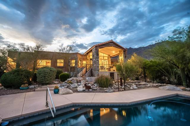 7146 N Finger Rock Place, Tucson, AZ 85718 (#22016572) :: The Local Real Estate Group | Realty Executives
