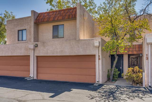 1949 N Swan Road #14, Tucson, AZ 85712 (#22016790) :: Long Realty - The Vallee Gold Team
