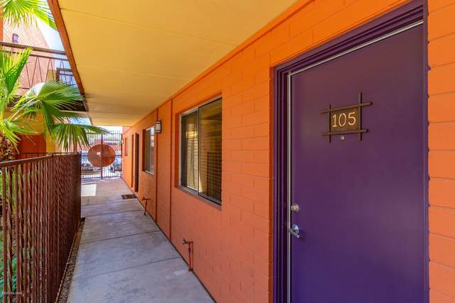 55 N Cherry Avenue #105, Tucson, AZ 85719 (#22016934) :: The Local Real Estate Group | Realty Executives