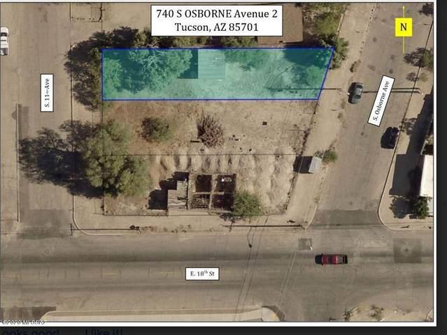 740 S Osborne Avenue #2, Tucson, AZ 85701 (#22017157) :: Long Realty - The Vallee Gold Team