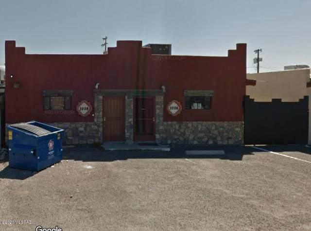 3208 E President Street, Tucson, AZ 85714 (#22017957) :: eXp Realty