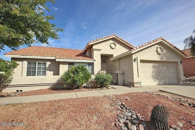 180 S Gold Mine Loop, Tucson, AZ 85748 (#22018810) :: Long Realty - The Vallee Gold Team
