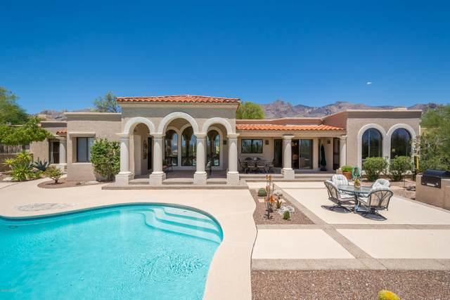 3075 E Manzanita Ridge Pl., Tucson, AZ 85718 (#22019388) :: Long Realty - The Vallee Gold Team