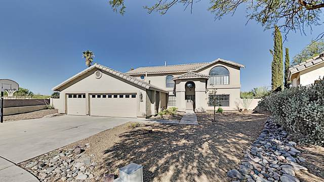 12413 N Copper Queen Way, Oro Valley, AZ 85755 (#22019635) :: Realty Executives Tucson Elite