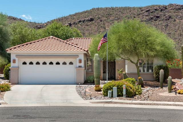 9223 N Crimson Stone Place, Tucson, AZ 85743 (#22019695) :: Long Realty - The Vallee Gold Team