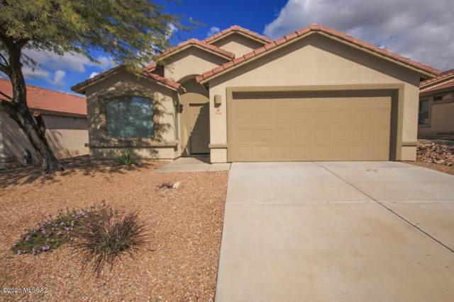 5548 W Acacia Blossom Place, Marana, AZ 85658 (#22022249) :: Tucson Property Executives