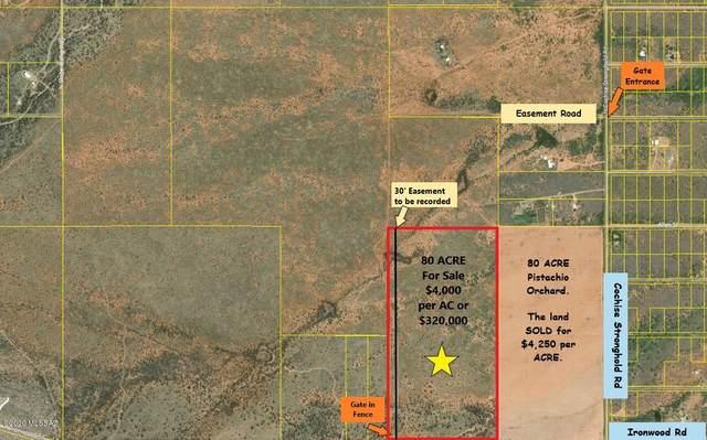 80 Acre On Ironwood Rd -, Cochise, AZ 85606 (#22023072) :: Keller Williams