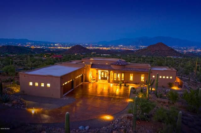 4076 N Broken Springs Trail, Tucson, AZ 85745 (#22023313) :: Tucson Property Executives
