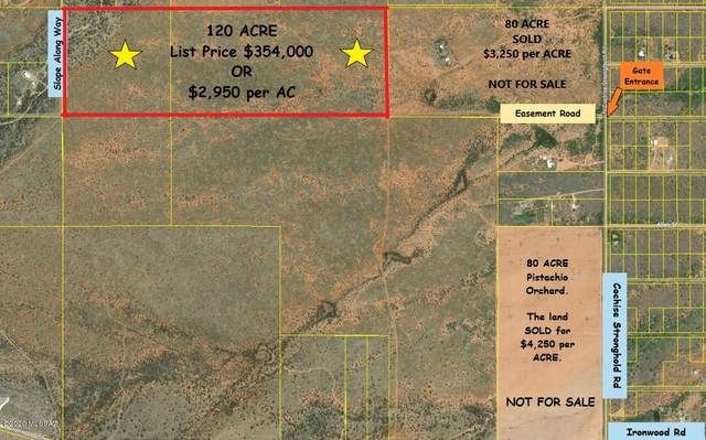 120 Ac Off Stronghold Road -, Cochise, AZ 85606 (#22023872) :: Keller Williams