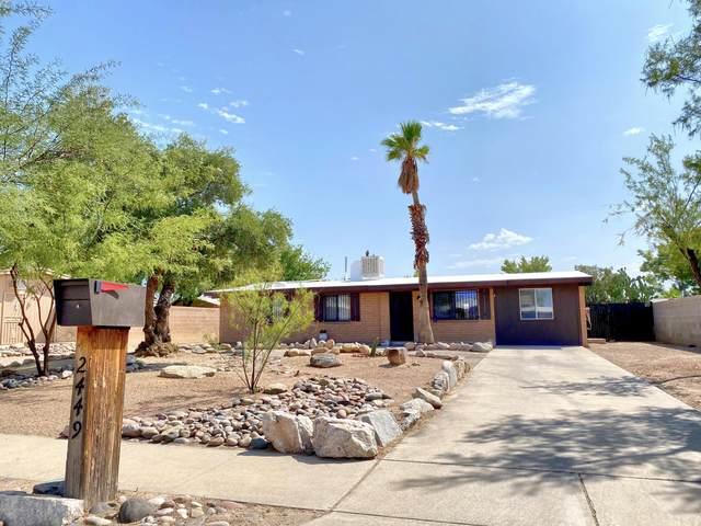 2449 W Placita Algodon, Tucson, AZ 85741 (#22023986) :: Keller Williams