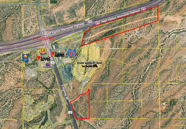 Sr90/I-10 Frontage, Benson, AZ 85602 (MLS #22024189) :: The Property Partners at eXp Realty