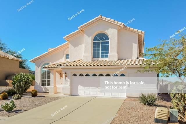 7750 W Running Bear Drive, Tucson, AZ 85743 (#22027211) :: Gateway Partners