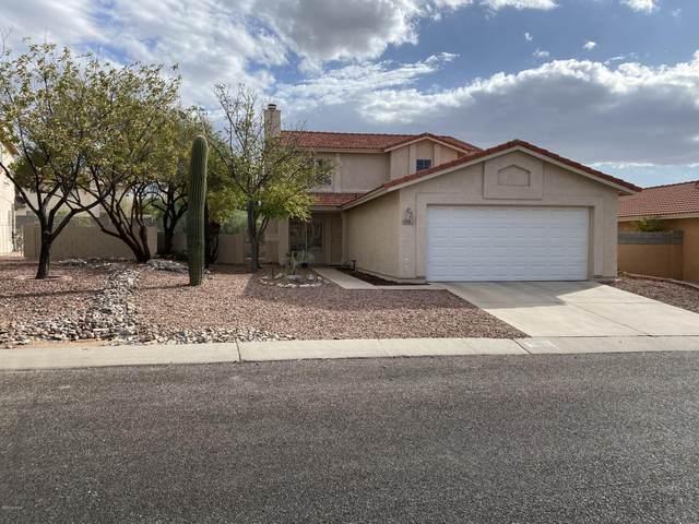 5061 W Blackbird Drive, Tucson, AZ 85742 (#22028390) :: Keller Williams