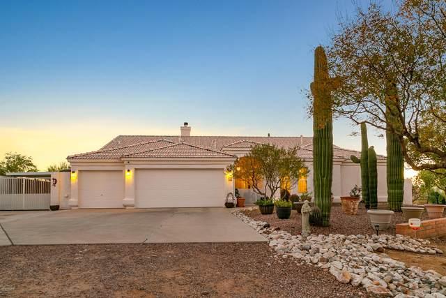 8745 N Camino De Oeste, Tucson, AZ 85742 (#22029813) :: Gateway Realty International