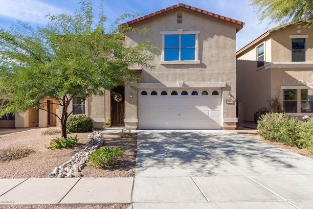 12921 N Desert Olive Drive, Oro Valley, AZ 85755 (#22029927) :: Long Realty - The Vallee Gold Team