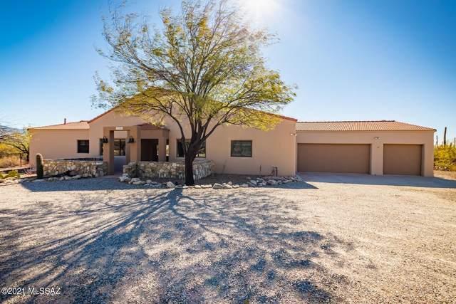 11200 E Camino Del Sahuaro, Tucson, AZ 85749 (#22100951) :: Long Realty - The Vallee Gold Team