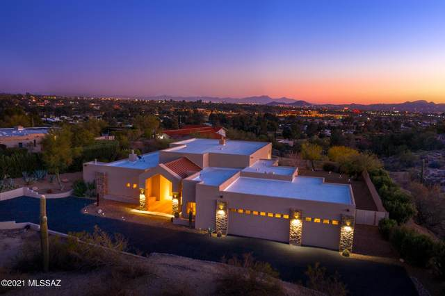 8327 N Rose Marie Lane, Tucson, AZ 85742 (#22100989) :: Long Realty - The Vallee Gold Team