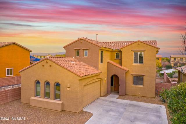 12910 N Fox Hollow Drive, Marana, AZ 85653 (#22101008) :: Long Realty - The Vallee Gold Team