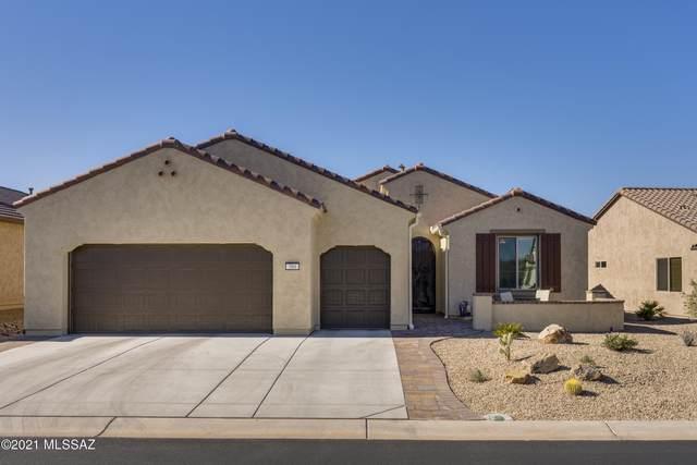 589 N Sweet Heather Way, Green Valley, AZ 85614 (#22101047) :: Keller Williams