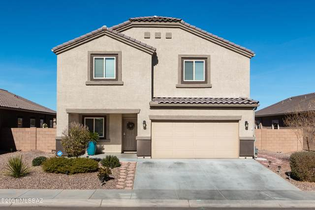 9136 Blue Saguaro Street, Marana, AZ 85653 (#22101586) :: Long Realty - The Vallee Gold Team