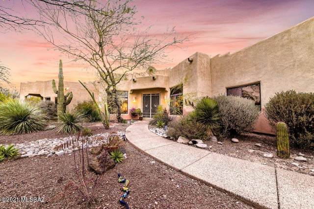 4319 N Via Bellas Catalinas, Tucson, AZ 85718 (#22101755) :: Long Realty - The Vallee Gold Team