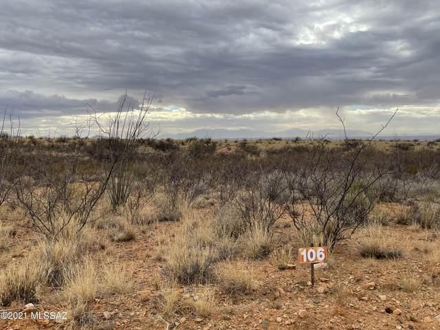 Lot 106 W Cottontail Trail #106, St. David, AZ 85630 (#22101783) :: Long Realty Company