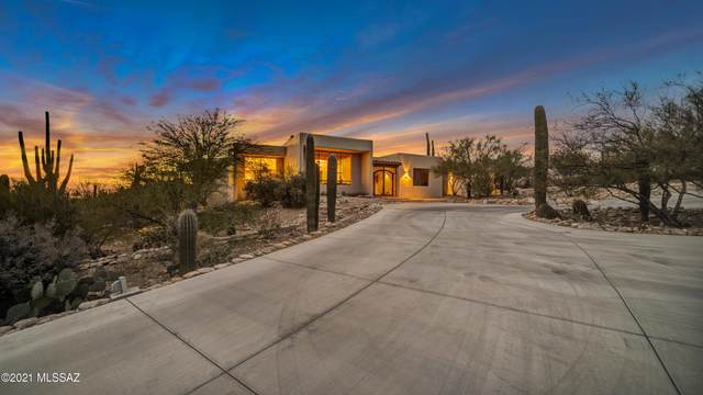 1030 E Via Lucitas, Tucson, AZ 85718 (#22101837) :: Gateway Realty International