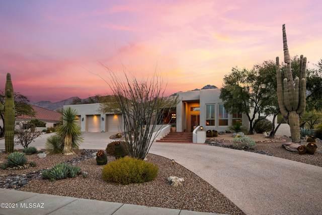 7311 E Desert Moon Loop, Tucson, AZ 85750 (#22101897) :: Long Realty - The Vallee Gold Team